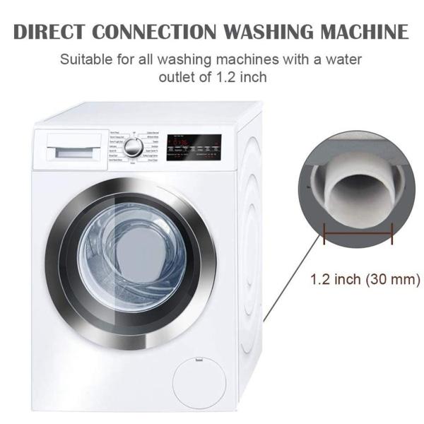 Tvättmaskin Diskmaskin Avloppsslang Avloppsrör för avloppsvatten