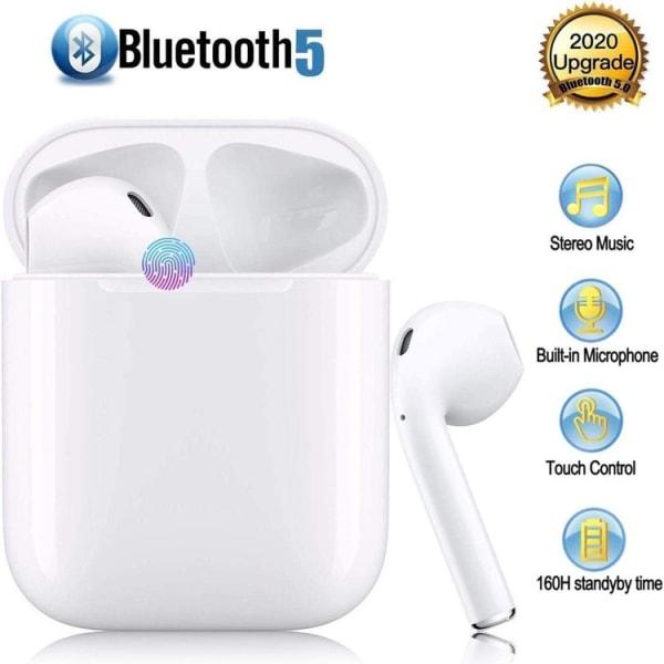 TWS i12 Hörlurar med Bluetooth 5.0 - för iOS & Android