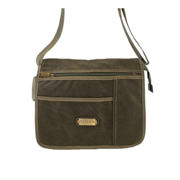 Taske, lærred - SIMON Green one size