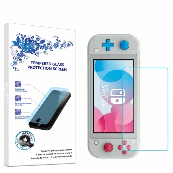 Nintendo Switch Lite Härdat glas skärmskydd Transparent one size