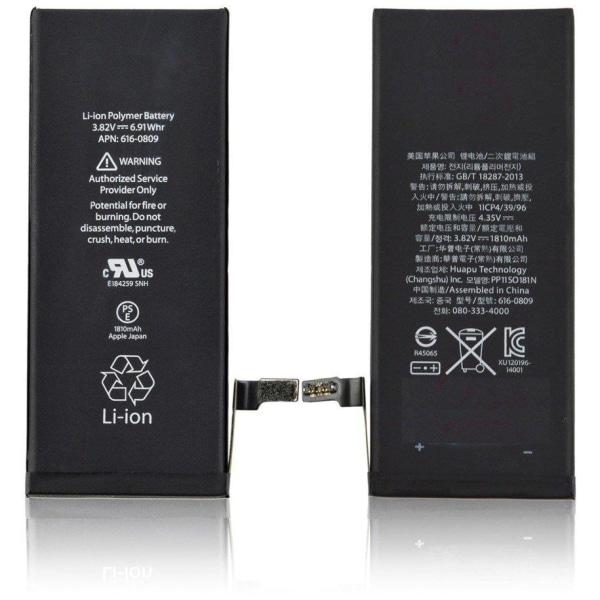 iPhone 6s batteri Svart one size