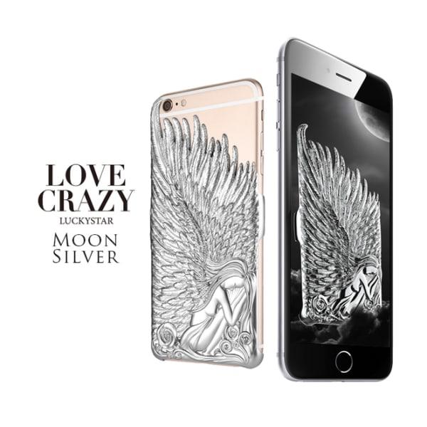 iPhone 6/6s Plus änglavingar skal Silver Silver