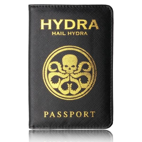 RFID Skydd - Passfodral Marvel Hydra  Svart one size