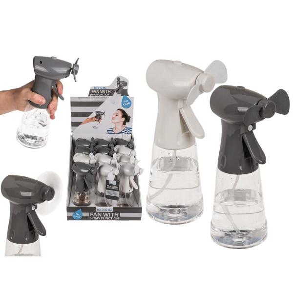 Håndventilator / blæser med vandsprayfunktion