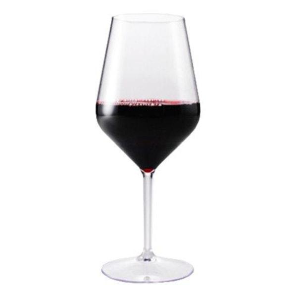 6-Pack - Vinglas i Akryl - Glas till Vin - Okrossbara