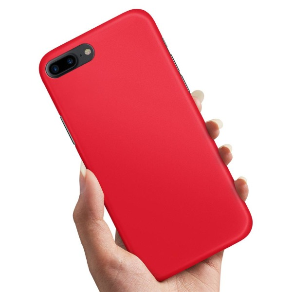 Huawei Honor 10 - Skal / Mobilskal Röd Röd