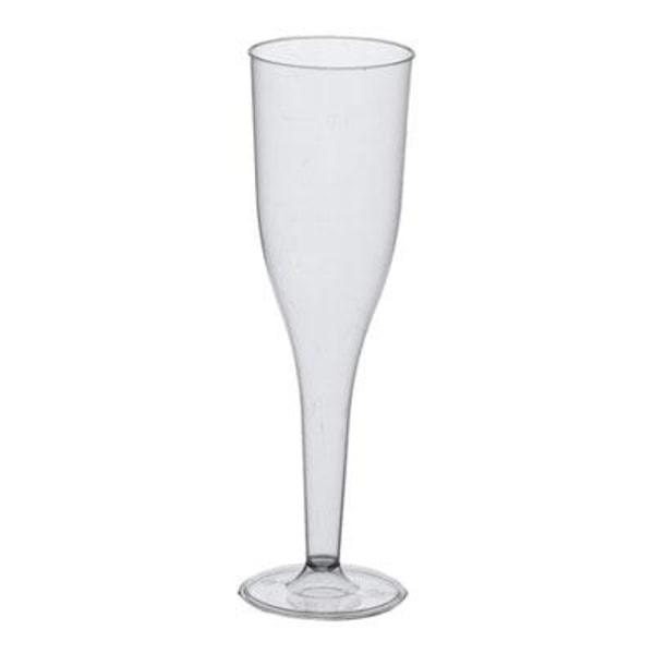 10-Pack Champagneglas i Plast / Plastglas - 100ml