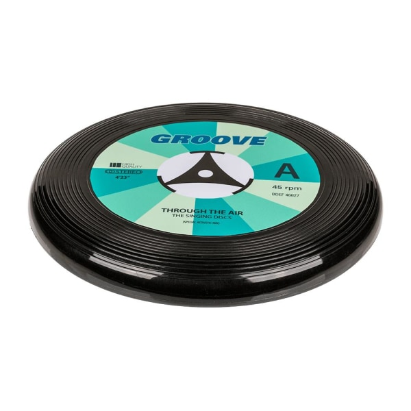 Frisbee Black Vinyl Record - 25 cm Black