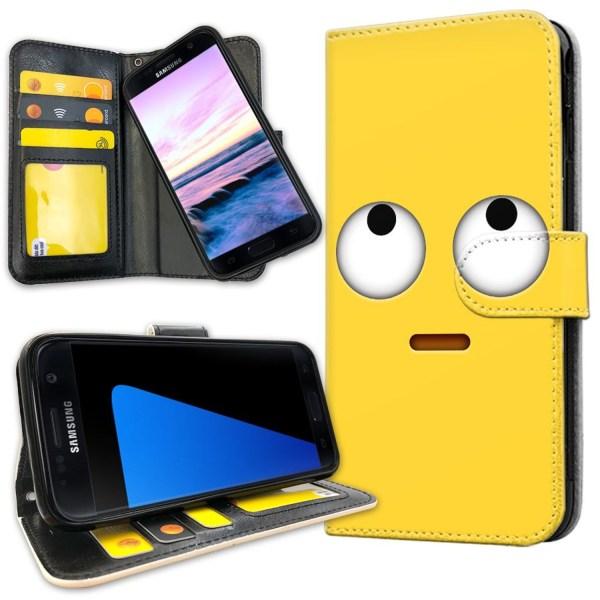 Samsung Galaxy S7 - Mobilfodral Emoji / Smiley