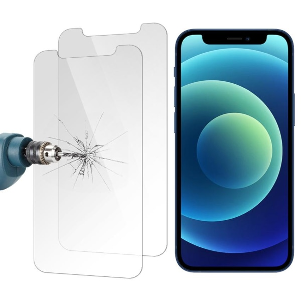 Skärmskydd - iPhone 12 Mini - Härdat Glas / Skyddsglas