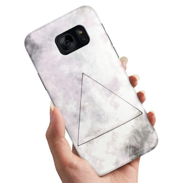 Samsung Galaxy S7 Edge - Skal / Mobilskal Triangel