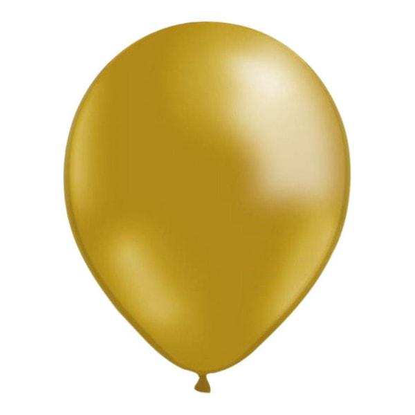 25-Pakkaus Ilmapallot Gold Metallic