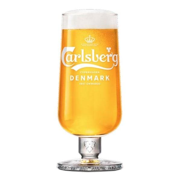 6-Pack - 25cl Ölglas Carlsberg Stemmed - Glas till Öl