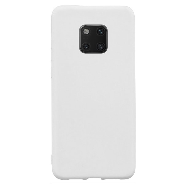 Huawei Mate 20 Pro - Cover / mobil etui let og tynd - hvid White