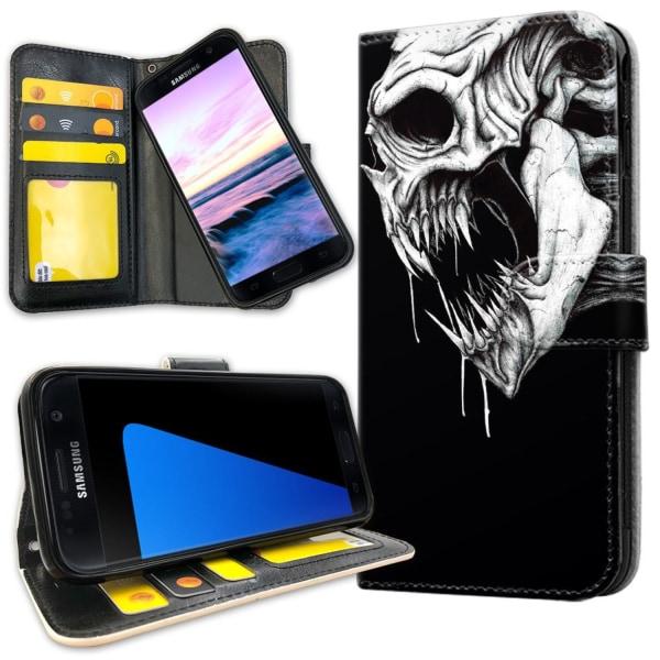 Samsung Galaxy S7 - Mobilfodral Döskalle Monster