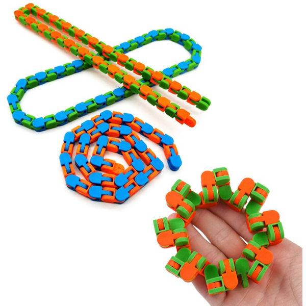 30-Pack Fidget Toys - Pop It, Stressboll, Bönor m.m. multifärg