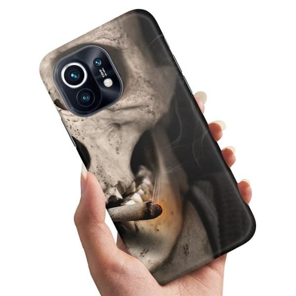 Xiaomi Mi 11 - Skal / Mobilskal Smoking Skull
