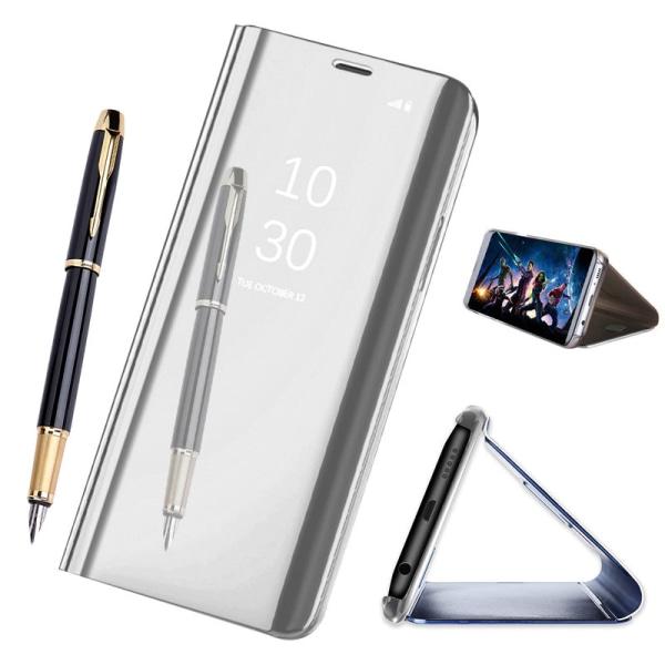 Samsung Galaxy S10 Plus - Mobilfodral / Fodral Spegel - Silver Silver