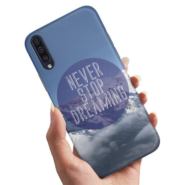 Xiaomi Mi 9 - Skal / Mobilskal Never Stop Dreaming