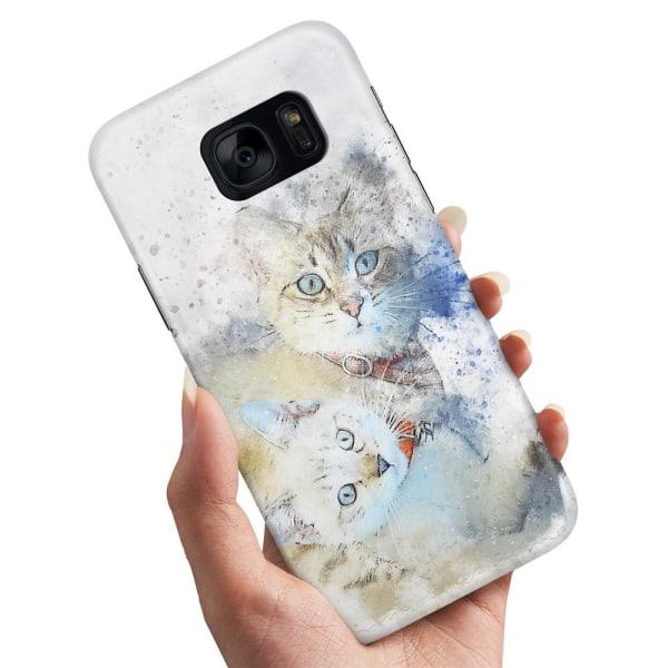 Samsung Galaxy S7 - Skal / Mobilskal Katter