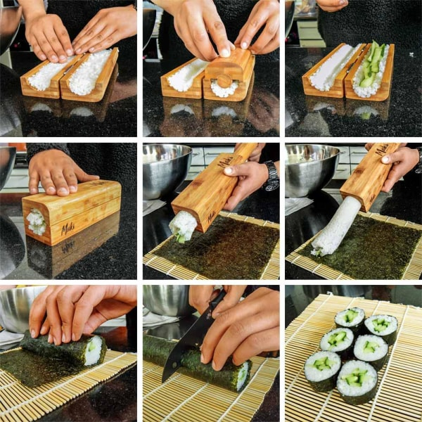 Sushirullare i Bambu - Rullare & Redskap för Sushi  Björk