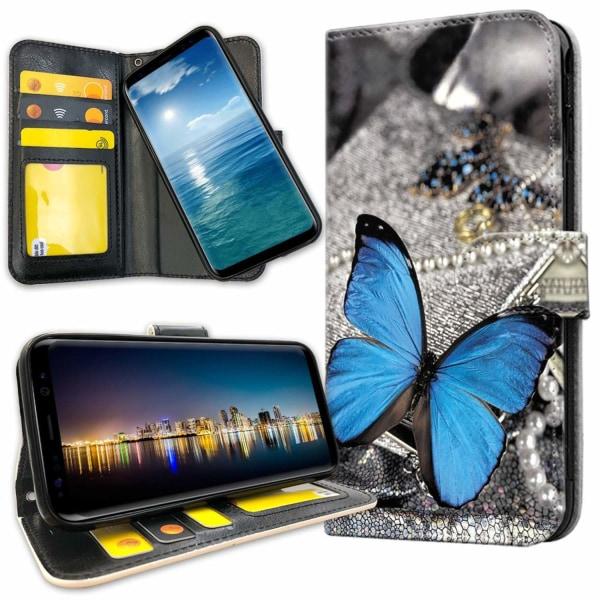 Samsung Galaxy S10 Plus - Mobilfodral Blå Fjäril
