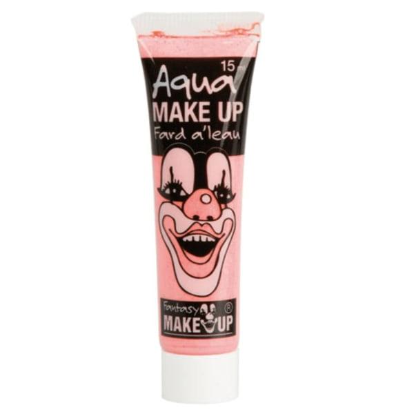 Vaaleanpunainen kasvoväri / meikki putkessa - Halloween ja naamiointi Pink