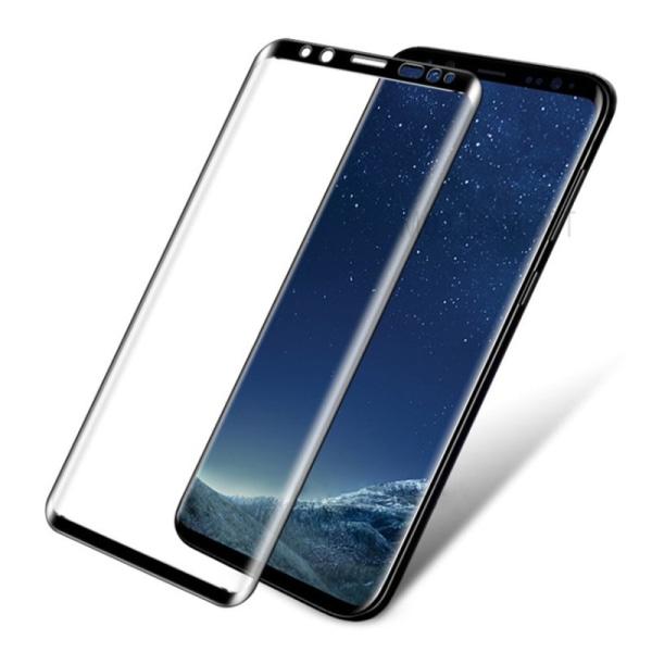 Skärmskydd Samsung Galaxy S9 - Heltäckande Glas Svart