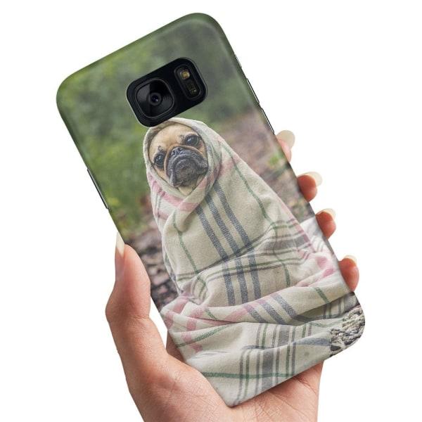 Samsung Galaxy S7 Edge - Skal / Mobilskal Söt Bulldog