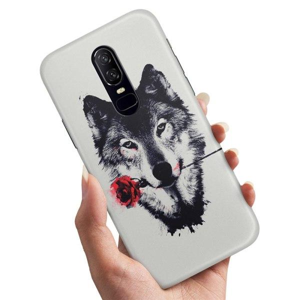 Xiaomi Mi 9T - Skal / Mobilskal Varg Ros