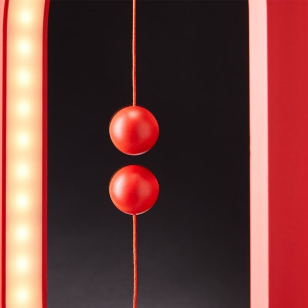 Balance lampe / bordlampe - Oval LED lampe - Sort Black