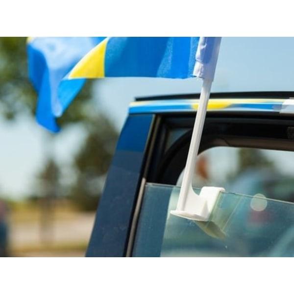 2 -Pakkaus - Autolippu Ruotsi / Ruotsin lippu - Autolle