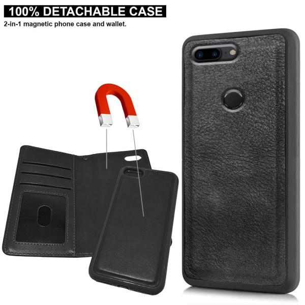 OnePlus 5T - Mobilfodral Färgade Rosor