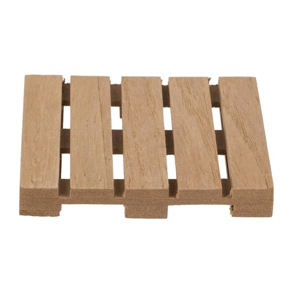 4 -pakning - Glasunderlag i træ - Glasunderlag