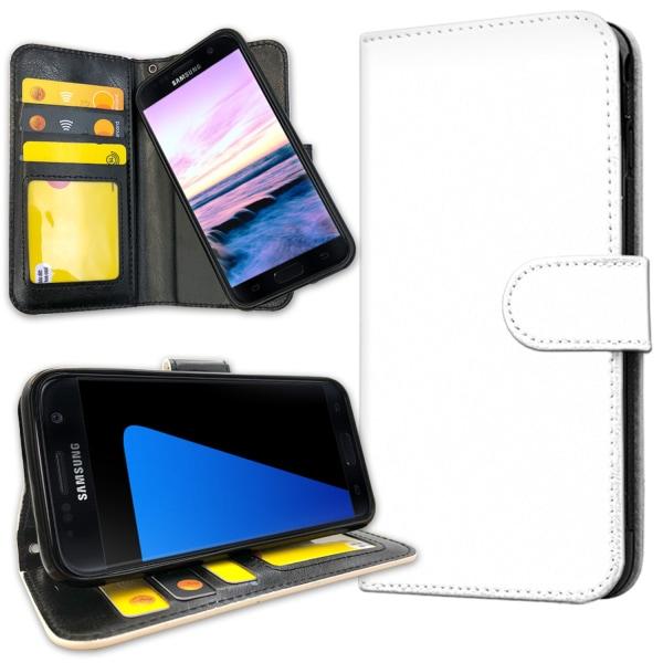 Samsung Galaxy S7 - Mobilfodral Vit Vit