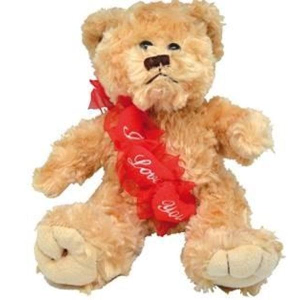 Bamse - Jeg elsker dig - Udstoppede dyr - Valentinsdag - 20cm
