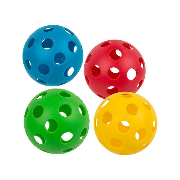 4-Pack Hundboll - Hundleksak / Boll / Plastboll Leksak till Hund