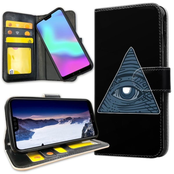Huawei Honor 10 - Mobilfodral Illuminati