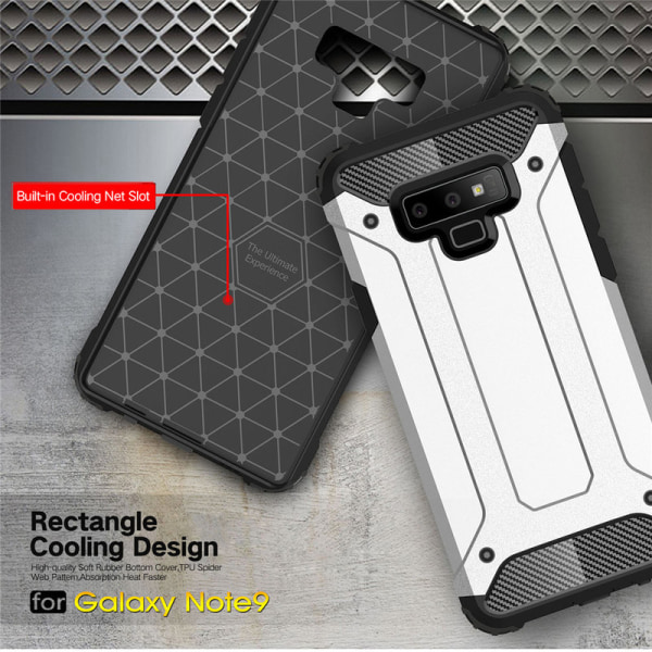 Samsung Galaxy Note 9 - Skal / Mobilskal Tough - Flera färger Svart