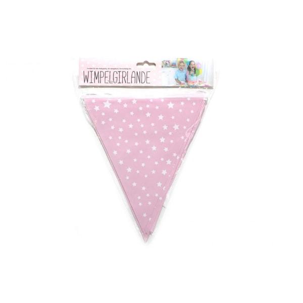 Girlang / Vimpelgirlang - Baby shower - Pige Pink