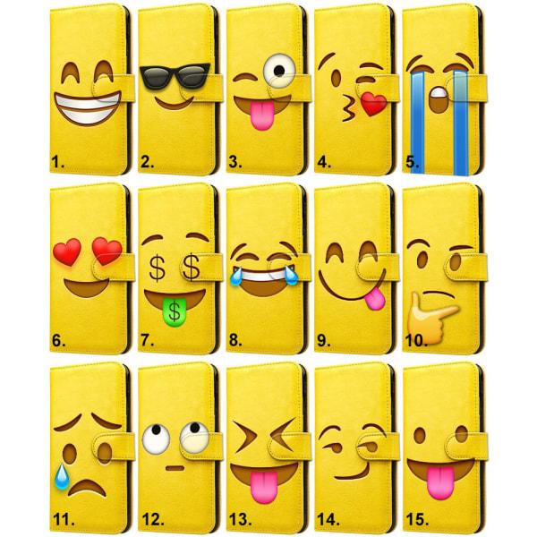 Samsung Galaxy S8 - Mobilfodral / Mobilskal Emoji 6