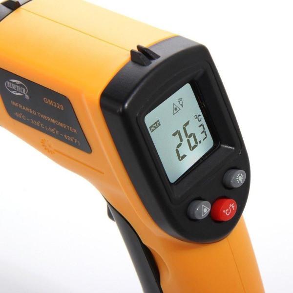IR -termometer - Infrarød Orange