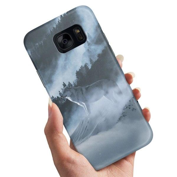 Samsung Galaxy S7 - Skal / Mobilskal Arctic Wolf
