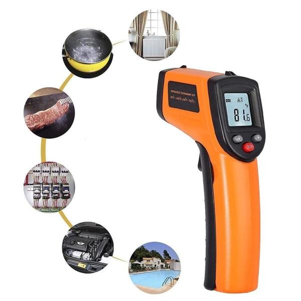 IR -lämpömittari - infrapuna Orange