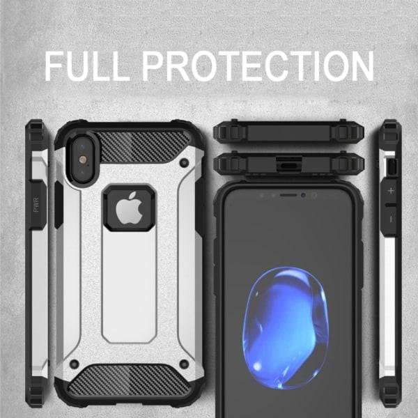 iPhone XR - Cover / mobil etui hård - blå Blue
