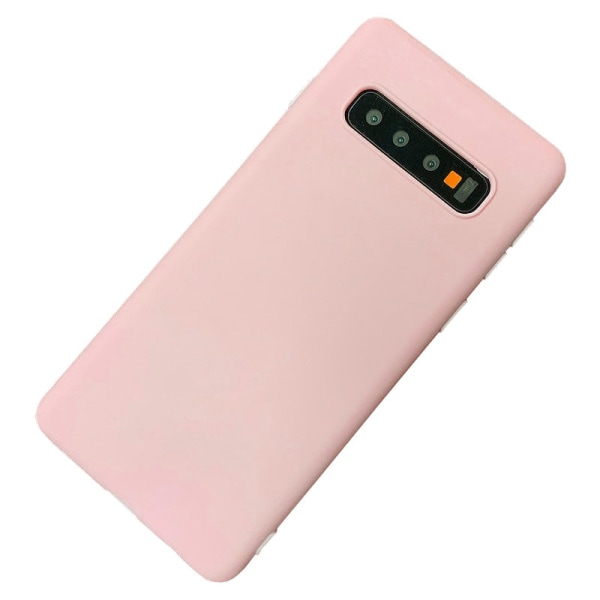 Samsung Galaxy S10 Plus - Cover / Mobilcover Light & Thin - Lyserød Light pink