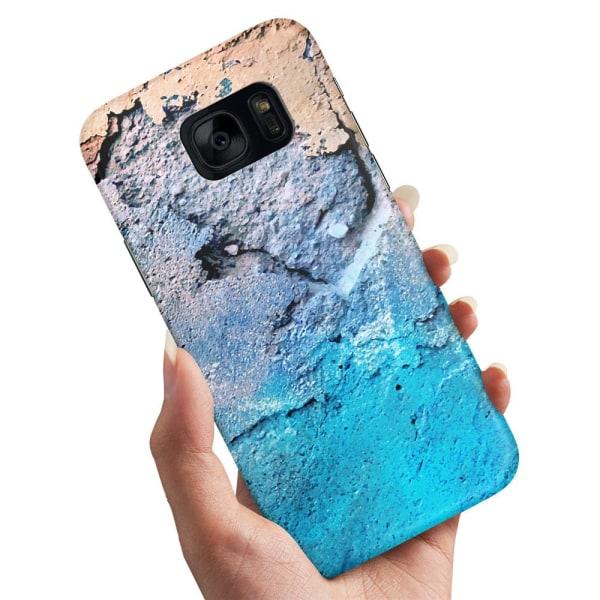 Samsung Galaxy S7 Edge - Skal / Mobilskal Marmor