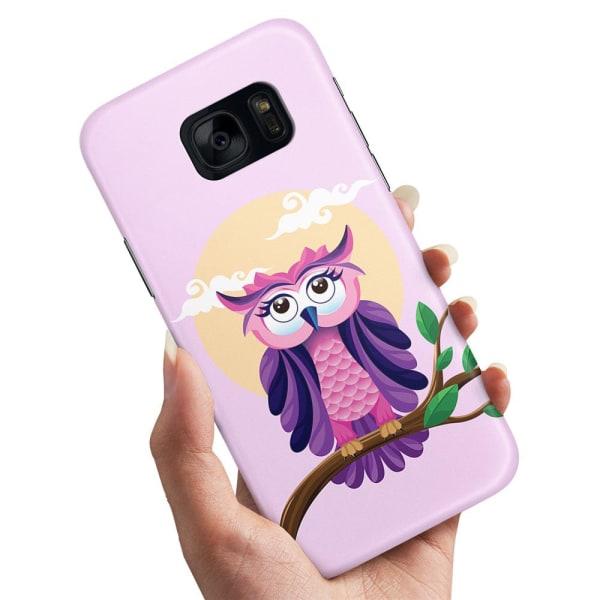 Samsung Galaxy S7 Edge - Skal / Mobilskal Fin Uggla