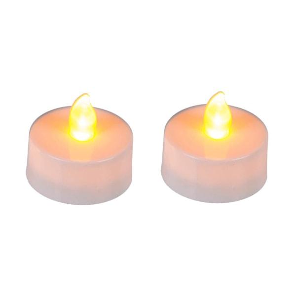 Batteridrevne fyrfadslys / LED-lys-4 stk White