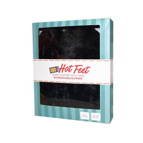 Hot Feet Värmetofflor - Tofflor - Värmer upp Fötterna Vit